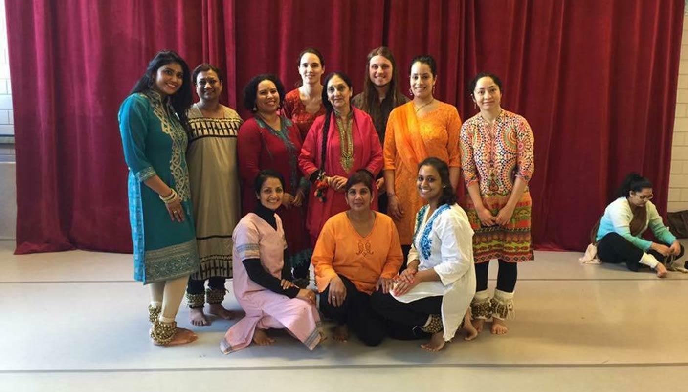 Workshop met Guru Geetanjali Lal in Nederland